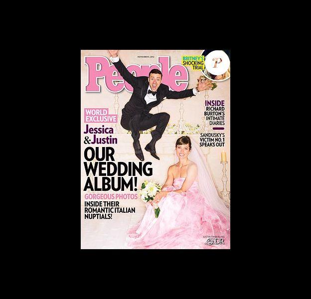Justin Timberlake et Jessica Biel, mariés, en couverture du magazine People