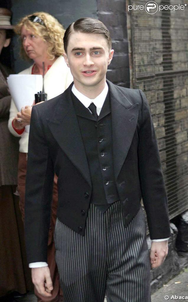 Daniel Radcliffe sur le tournage de My Boy Jack