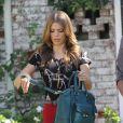 La belle AnnaLynne McCord sur le tournage de 90210, le 24 octobre 2012 à Los Angeles