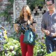 AnnaLynne McCord sur le tournage de 90210, le 24 octobre 2012 à Los Angeles