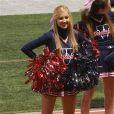 Ava, la fille de Heather Locklear et Richie Sambora, participe en tant que pom-pom girl, le samedi 27 octobre 2012, à Los Angeles.