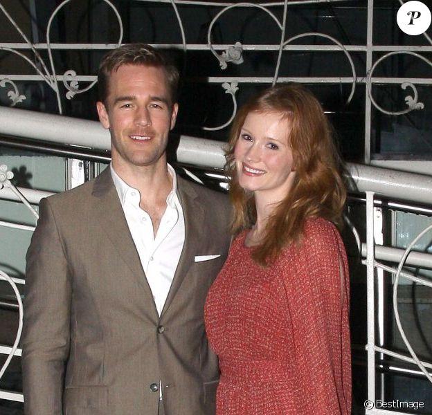 James Van Der Beek et sa femme Kimberly à West Hollywood, le 30 octobre 2012.