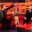 Robbie Williams sur le plateau du Graham Norton Show le 1er novembre 2012