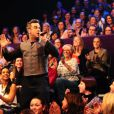 Robbie Williams dans le Graham Norton Show le 1er novembre 2012