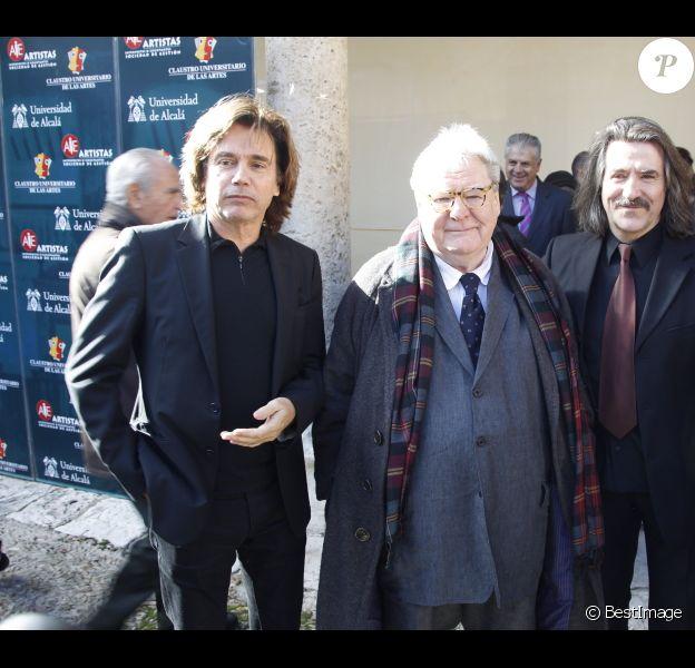 Jean-Michel Jarre et le réalisateur Britannique Alan Parker ont été désignés membres honoraires de l'Université des Arts d'Alcalá de Henares, le 6 novembre 2012.
