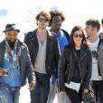 Rumer Willis et son compagnon Jayson Blair profitent du soleil de Miami en compagnie des membres du groupe de Rumer, le 8 novembre 2012