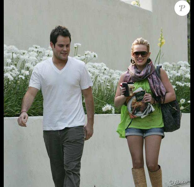 Hilary Duff et son petit copain