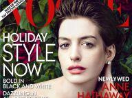 Anne Hathaway en une du Vogue US se laisse aller à quelques confessions