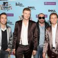 Les Backstreet Boys aux MTV European Music Awards à Berlin le 5 novembre 2009.