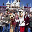 Les Backstreet Boys au parc Disney à Los Angeles le 4 novembre 2012.