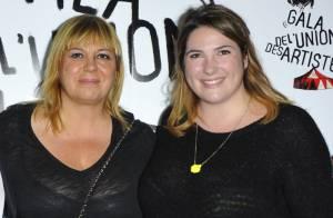Michèle Bernier complice avec sa fille Charlotte Gaccio, jeune mariée radieuse