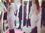 Kim Kardashian dévoile sa chute de reins, Kourtney fait du shopping à Paris