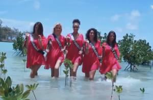 Miss France 2013 : Les Miss Languedoc, Côte d'Azur et Normandie défilent !