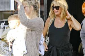 Goldie Hawn : Au top pour ses 67 ans avec Kate Hudson et les enfants