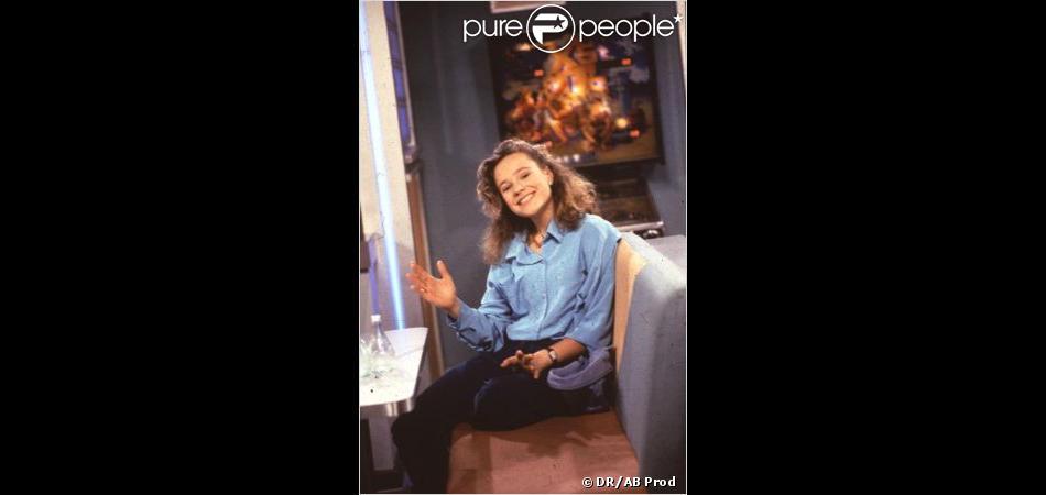 Camille Raymond à l'époque de Premiers Baisers diffusé à partir de 1991 par AB Prod.