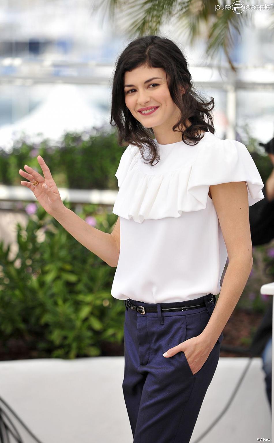 Audrey Tautou lors du Festival de Cannes 2012