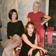 Audrey Tautou avec Nathalie Baye et la réalisatrice Tonie Marshall pour la promotion de Vénus Beauté (Institut) en 2000