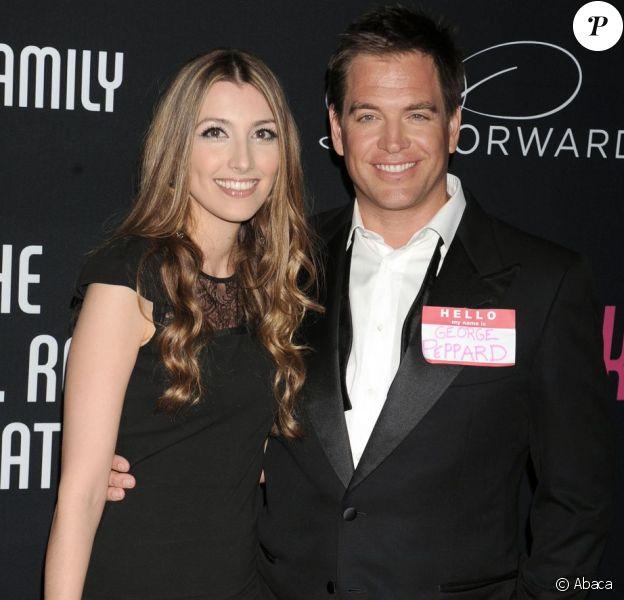 Michael Weatherly et sa femme Bojana Jankovic à la soirée Pink Party à Los Angeles le 27 octobre 2012.
