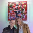 Kokian et Valeria Attinelli au vernissage presse des Frimousses de créateurs au Petit Palais à Paris le 26 Novembre 2012