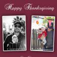 Jessica Simpson, son fiancé Eric Johnson et leur fille Maxwell ont créé une carte de voeux pour Thanksgiving.