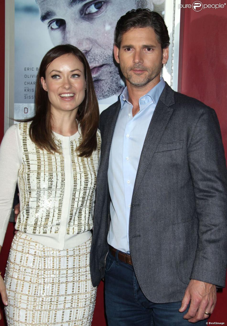 Olivia Wilde et Eric Bana pour la première du film Blackbird (Deadfall en version originale) à Hollywood, le 29 novembre 2012.