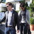 Halle Berry et son compagnon Olivier Martinez se rendent à une fête pour Thanksgiving à Los Angeles le 21 novembre 2012.
