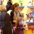Violet Affleck fête ses 7 ans avec sa famille et ses amies, à Brentwood, le 1er décembre 2012