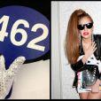 Photo postée par Lady Gaga sur Twitter lors de la vente aux enchères d'objets collectors de Michael Jackson à Los Angeles le 2 décembre 2012.