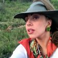 Lady Gaga publie les photos de son safari sur son compte Twitter, le 30 novembre 2012, jour de son concert à Johannesburg.
