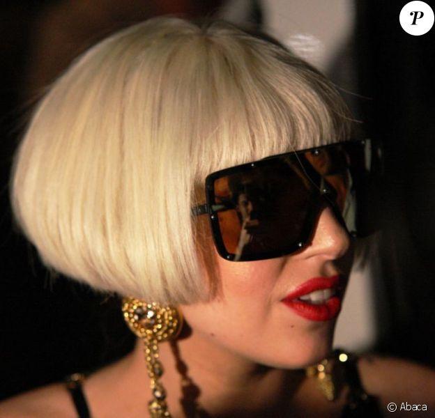 Lady Gaga à Johannesburg, le 27 novembre 2012.