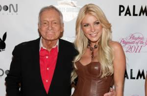 Hugh Hefner, le ''Playboy'' de 86 ans va se marier avec Crystal Harris, 26 ans