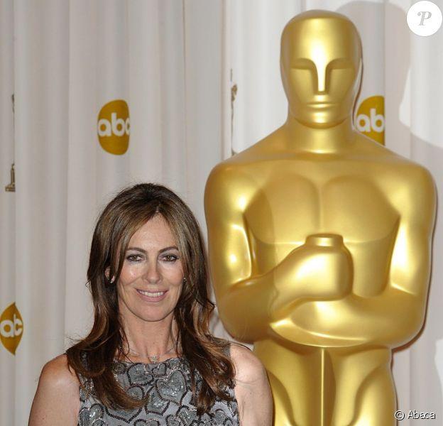 Kathryn Bigelow lors de la cérémonie des Oscars 2010