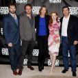 Mark Boal, Jason Clarke, Kathryn Bigelow, Jessica Chastain et Kyle Chandler lors du photocall du film Zero Dark Thirty à New York le 3 décembre 2012
