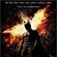 Affiche officielle de The Dark Knight Rises.