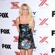 Britney Spears à la soirée X Factor Viewing Party à Los Angeles le 6 décembre 2012.