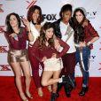 Fifth Harmony à la soirée X Factor Viewing Party à Los Angeles le 6 décembre 2012.