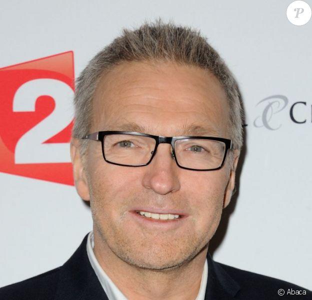 Laurent Ruquier lors de la présentation de On ne demande qu'à le connaître au Théâtre Antoine dont il est propriétaire à Paris, le 2 décembre 2012.
