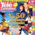 Le magazine  Télé 2 semaines  en kiosques depuis le 10 décembre 2012.