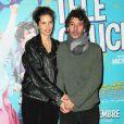 Maïwenn et Eric Elmosnino lors de l'avant-première du film Télé Gaucho à Paris le 10 décembre 2012