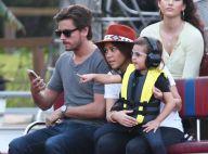 Kourtney Kardashian : Une aventurière stylée avec son fils Mason et son conjoint