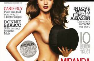 PHOTOS : Miranda Kerr s'affiche... topless !