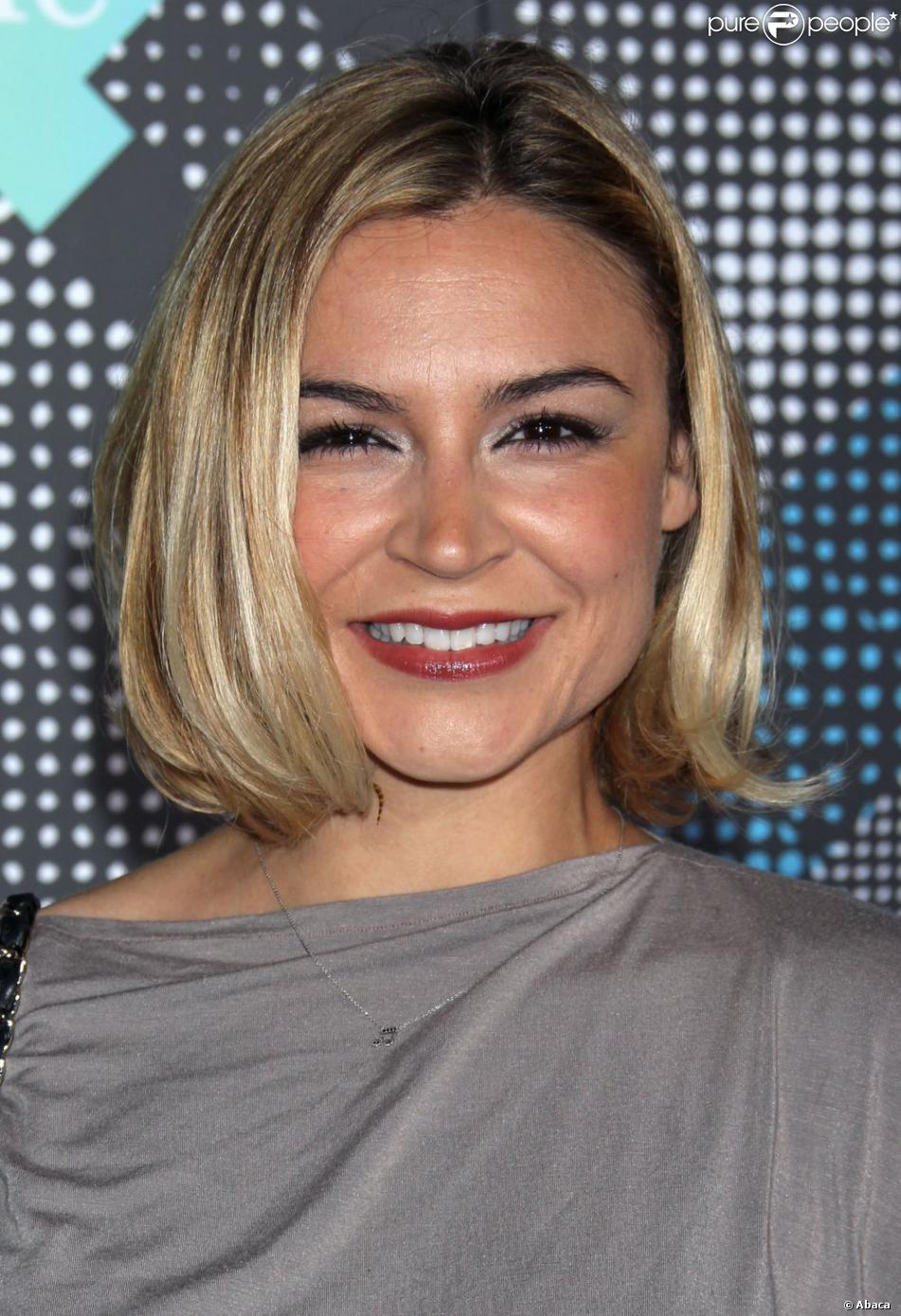 Samaire Armstrong couple