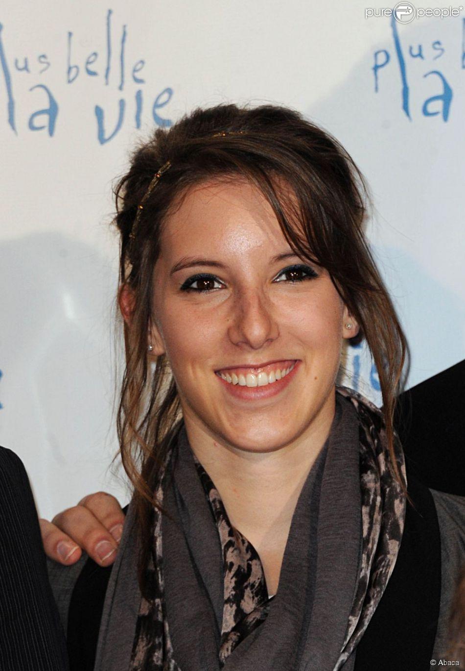 Léa François en février 2012 à Paris
