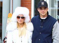 Paris Hilton : Skieuse de charme et amoureuse au bras de son chéri River Viiperi