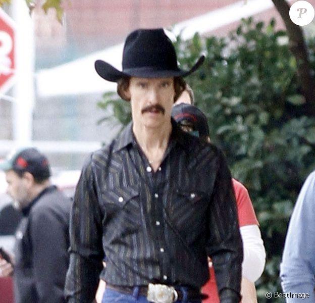 EXCLU - Matthew McConaughey lors du tournage du film The Dallas Buyers Club à la Nouvelle-Orléans, le 17 décembre 2012.