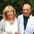 Jacques Séguéla et son épouse à Roland Garros en juin 2012