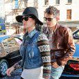 Katy Perry et son nouveau petit ami John Mayer vont dejeuner au restaurant ABC Kitchen, le jour des 35 ans de John, à New York, le 16 octobre 2012.