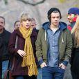 Harry Styles et Taylor Swift se promènent à Central Park à New York, le 2 décembre 2012.