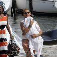 Jay-Z et Beyoncé Knowles, le 8 septembre 2012 en France.