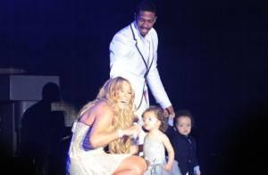 Mariah Carey : A 20 mois, ses jumeaux font le show sur scène